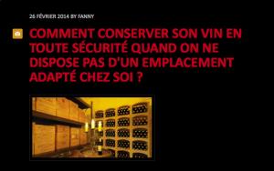 Comment conserver son vin en toute sécurité quand on ne dispose pas d'un emplacement adapté chez soi