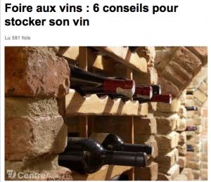 Foire aux vins 6 conseils pour stocker son vin