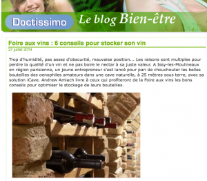 Foire aux vins : 6 conseils pour stocker son vin