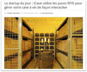 FrenchWeb iCave Start Up du jour