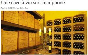 Stockage de vin paris